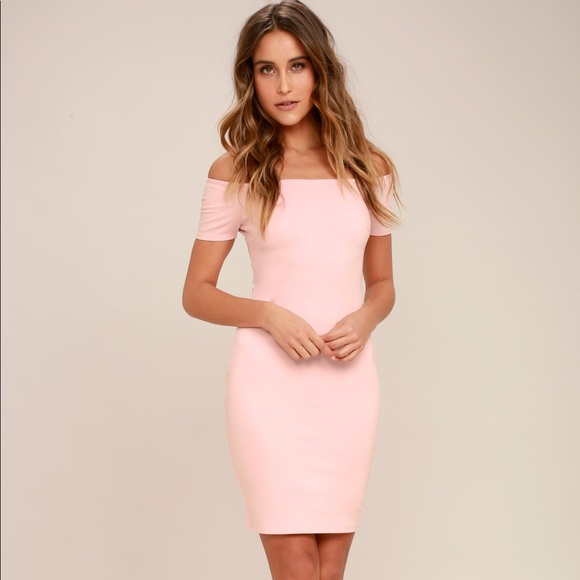 eaa9a568fa8b Lulu's Dresses | Blush Pink Dress | Poshmark